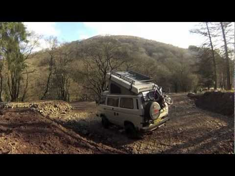 Easter VW / t3 / t25 / Vanagon / Syncro / Westfalia camping trip to The Gower 2013