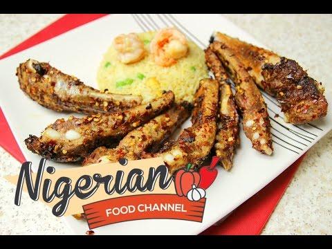 GRILLED PORK RIBS RECIPE | Nigerian Food Channel 😋😍