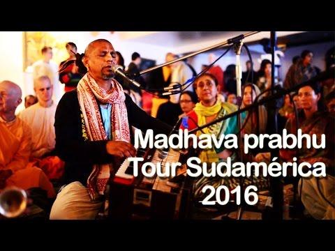 "VIDEO Promocional: ""Madhava Prabhu- Tour Sudamérica 2016"""