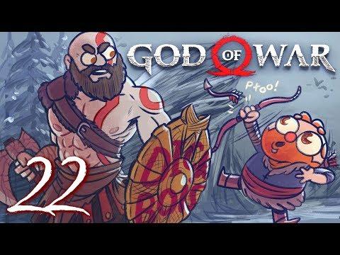 God of War HARD MODE (God of War 4) Part 22 - w/ The Completionist (видео)