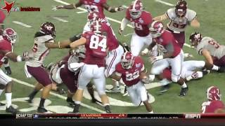 Christion Jones vs Virginia Tech (2013)