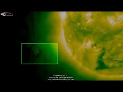 UFOs and anomalies near the Sun in the pictures NASA – January 11, 2013.