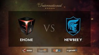 EHOME vs Newbee.Y, game 1