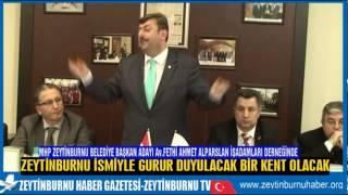 MHP Zeytinburnu Belediye Başkan Adayı Av Fethi Ahmet Alparslan İşadamları Derneğinde