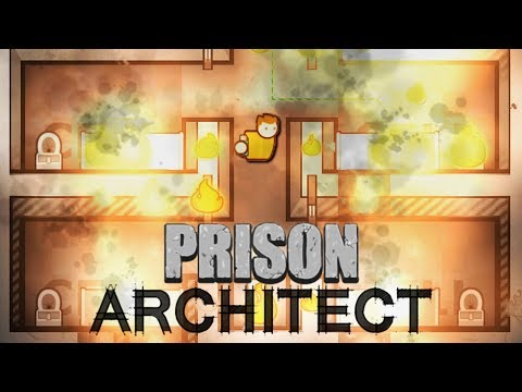 Got Thrown In Prison So I Started A Giant Fire in Prison Architect