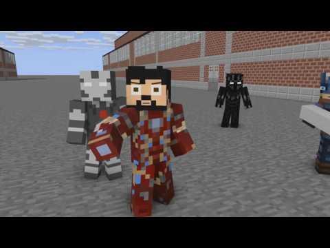 Video Captain America Civil War   Airport Confrontation   Minecraft Animation download in MP3, 3GP, MP4, WEBM, AVI, FLV January 2017