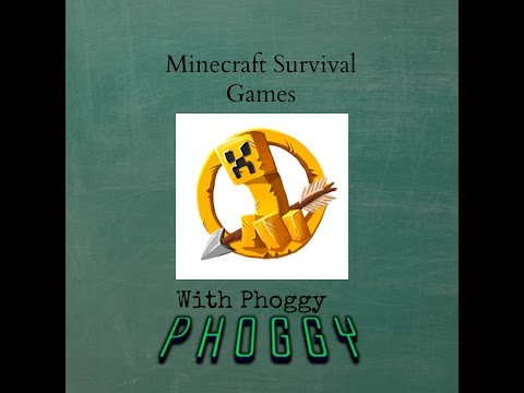 Minecraft Hunger Games with Phoggy