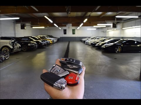 SUPERCAR GARAGE UPDATE !!!!! gt3rs lamborghini  ferrari  and more.