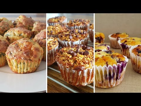 3 Easy Muffins Ideas For Breakfast