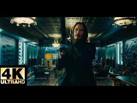 John wick: Chapter 3 - Parabellum(2019) - Continental Hotel fight scene Movieclips