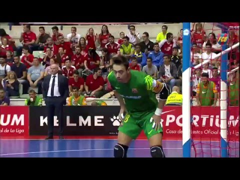 FCB Futbol Sala: November Best Saves