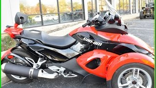 8. 2009 Can Am Spyder GS Roadster w/SE5 Transmission for sale at Monster Powersport!