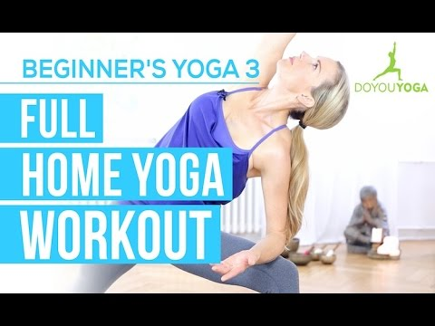 Full Home Yoga Workout – Session 3 – Yoga for Beginners Starter Kit