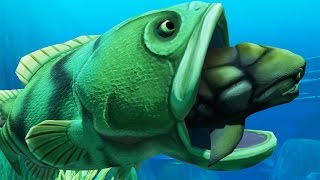 Incredible goliath fish feed and grow fish part 25 for Feed and grow fish online