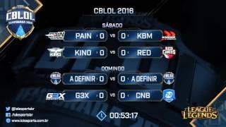 CBLOL Primeira Etapa - Quartas de Final - Dia 1