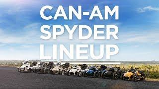 10. 2018 Can-Am Spyder line-up