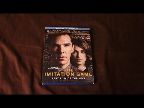 The Imitation Game Blu-Ray Review/Unboxing (HD)