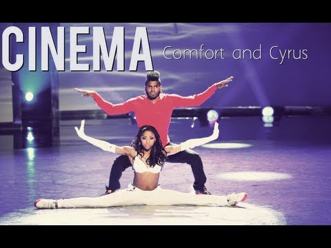 comfort - Comfort's Back as an All-Star Again and she was partnered with Cyrus Spencer . Music : Cinema (Skrillex Remix) Artist : Benny Benassi ft. Gary Go Dancers : C...