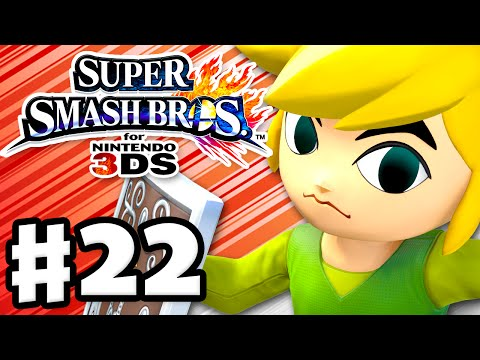 3ds - Super Smash Bros 3DS Gameplay Walkthrough Part 22! Thanks for every Like and Favorite on Super Smash Bros! Part 22 features gameplay of Toon Link in Smash, Smash Run, Classic, Solo, Online,.