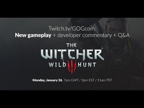 event - We held a special GOG.com Q&A with Damien Monnier (Senior Gameplay Designer) and Miles Tost (Level Designer) from (CD PROJEKT RED. 15 minutes of fresh game footage, developer ...