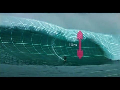 surfers - http://www.TheSurfChannel.com How heavy is a big wave? An incredible amount of water threatens the life of a big wave surfer, with just the lip of some break...