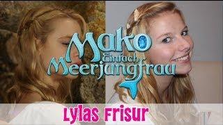 Lylas Hairstyle - Wasserfallzopf mit Muscheln // MAKO - EINFACH MEERJUNGFRAU // offizieller Fankanal - YouTube