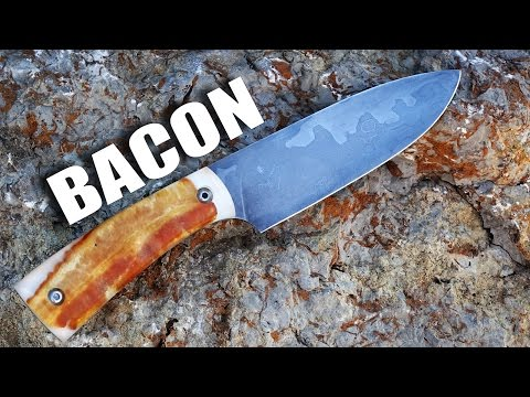 Creating a Knife with Beer and Bacon
