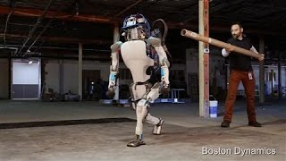 Video Atlas the Humanoid Robot in Action MP3, 3GP, MP4, WEBM, AVI, FLV Mei 2018