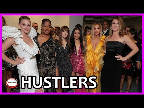 Hustlers Premiere - Interview Jennifer Lopez and Lil Reinhart and the cast