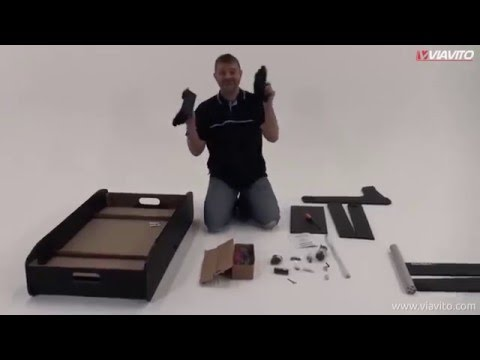 Viavito FT100X Football Table Assembly Video