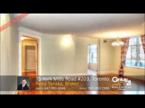 75 York Mills Road 203, Toronto,ON Condo for Sale by Reed Tanaka, Richmond Hill