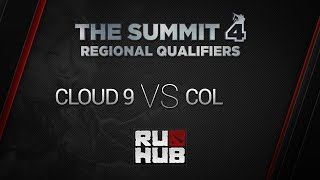Cloud9 vs coL, game 2