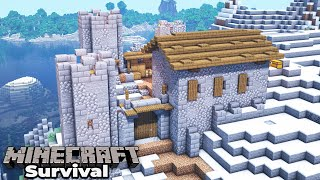 A Brand New Minecraft 1.15 Survival World : Starting our FIRST NEW project