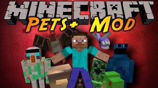 Minecraft Mod Showcase : PETS+