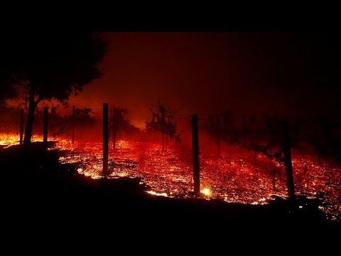 Πυρκαγιά στην Καλιφόρνια – Εκκενώνονται οι βίλες των αστέρων…