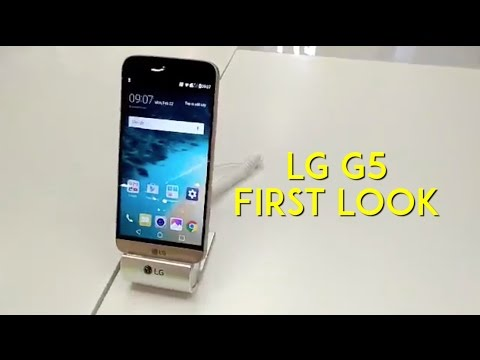 MWC 2016: LG G5 First Look Video