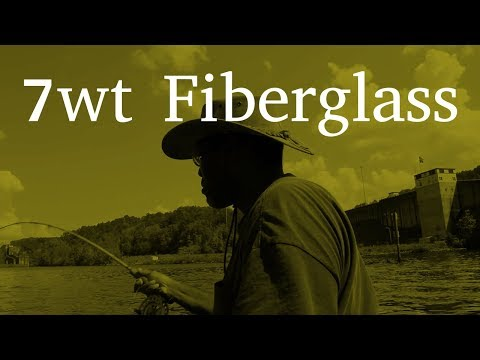 Damon Uses the Fly Rod | Fiberglass Fly Rod For Bluegill