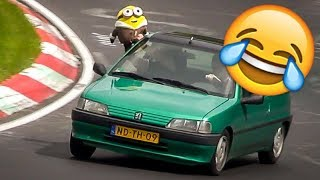Video Funny Moments at the Nürburgring - Nordschleife Crazy & Funny Compilation Video MP3, 3GP, MP4, WEBM, AVI, FLV Agustus 2019