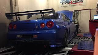Nonton Nissan Skyline R34 Gtr Dyno  600 Bhp  Fast   Furious  Power Run  Loud  Link Ecu  Ap S Film Subtitle Indonesia Streaming Movie Download