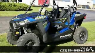 9. 2017 Polaris RZR 900 EPS Blue Fire  - Action Power Sports...