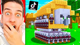 I Tested 60 More VIRAL TIKTOK MINECRAFT HACKS! **THEY WORKED**