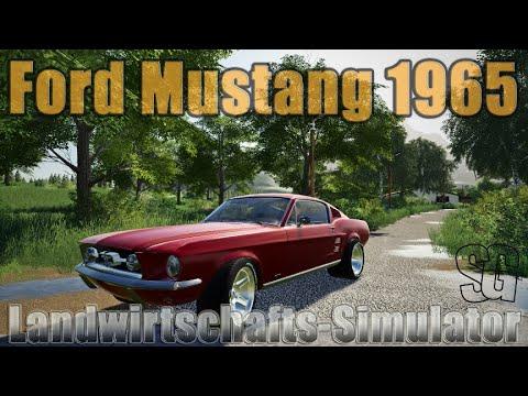 FS19 1965 Mustang v1.0.0.0