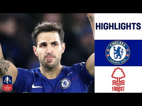 Morata Bags Two As Fabregas Bids Farewell | Chelsea 2-0 Nottingham Forest | Emirates Fa Cup 18/19