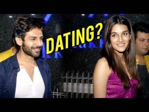 Kriti Sanon Kartik Aryan DINNER DATE, Are They Dat