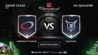 compLexity Gaming vs VGJ.Storm, The International NA QL [NS, Maelstorm]
