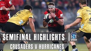 Crusaders v Hurricanes 2019 Semi-final Super rugby video highlights | Super Rugby Video Highlights