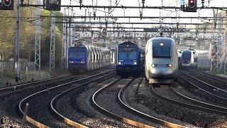 Video Les trains de Paris-Gare de Lyon et Bercy en time-lapse MP3, 3GP, MP4, WEBM, AVI, FLV Juli 2017