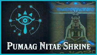 Zelda Breath of the Wild • Pumaag Nitae Shrine • Lake