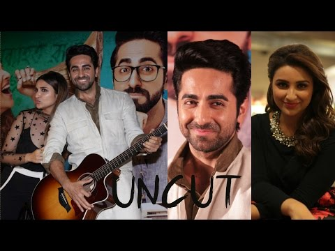 UNCUT - Ayushmann Khurrana & Parineeti Chopra Song Launched Meri Pyaari Bindu