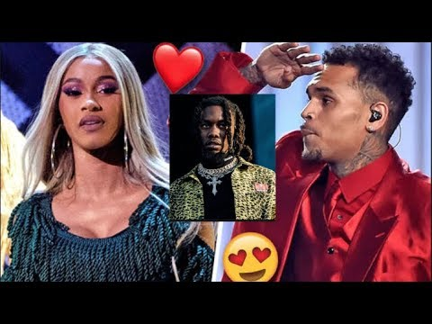 Offset Calls Out Chris Brown After He Finds Out Breezy Is Going After Cardi B Following Divorce